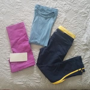 Bundle(sz.2) Lululemon workout clothes
